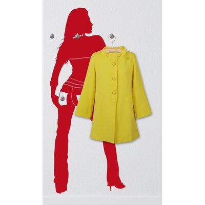 Graz Design Garderobenhaken Frau