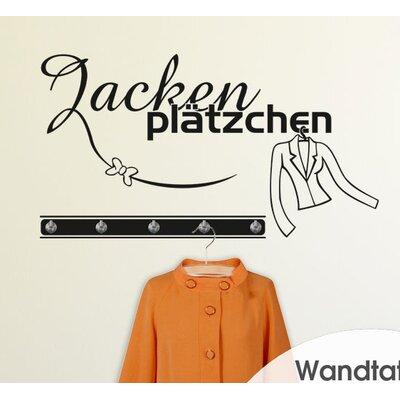 Graz Design Garderobenhaken Jackenplätzchen, Schleife