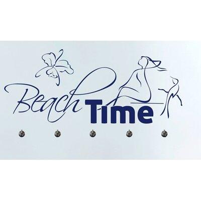 Graz Design Garderobenhaken Beach Time, nackte Frau, Strand