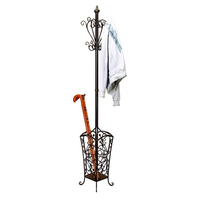 Casa Cortes Metal Coat and Hat Hanging Rack