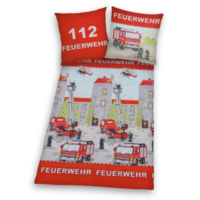 Herding Heimtextil Bettwäsche-Set Young Collection aus 100% Baumwolle