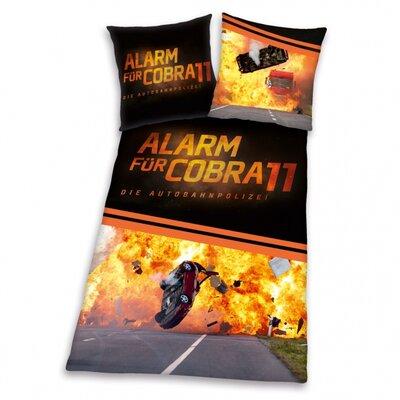 Herding Heimtextil Bettwäsche-Set Alarm für Cobra 11 aus 100% Polyester