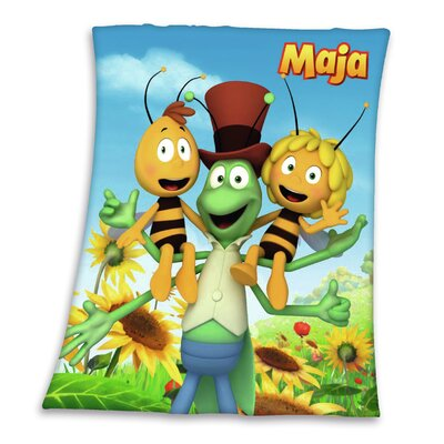 Herding Heimtextil Überdecke Biene Maja