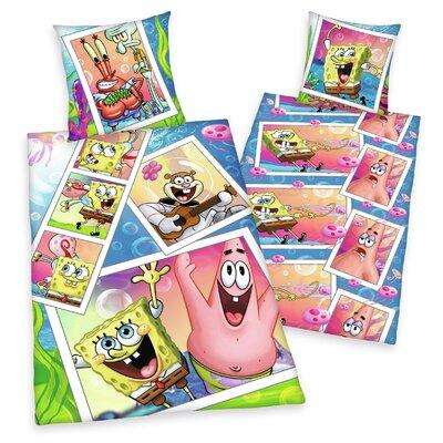 Herding Heimtextil Bettwäsche-Set Spongebob