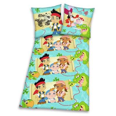 Herding Heimtextil Bettwäsche-Set Disney aus 100% Baumwolle