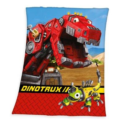 Herding Heimtextil Fleece-Decke Dinotrux