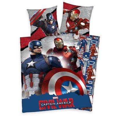Herding Heimtextil Bettwäsche-Set Captain America-Civil War