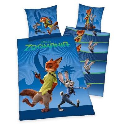 Herding Heimtextil Bettwäsche-Set Zoomania Disney
