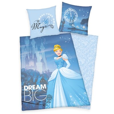 Herding Heimtextil Bettwäsche-Set Princess Disney