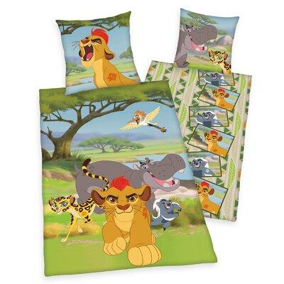 Herding Heimtextil Bettwäsche-Set Lion Guard Disney