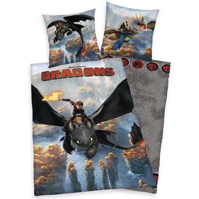 Herding Heimtextil Bettwäsche-Set Dragons