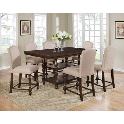 Langley 3 Piece Counter Height Dining Set