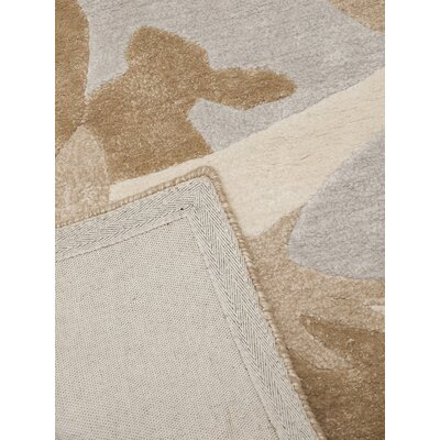 Art for kids Hand-tufted Brown Area Rug