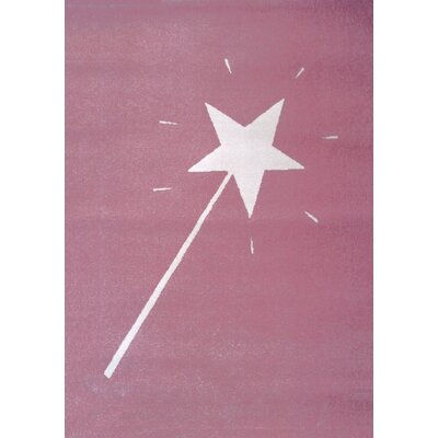 Art for kids Pink Area Rug