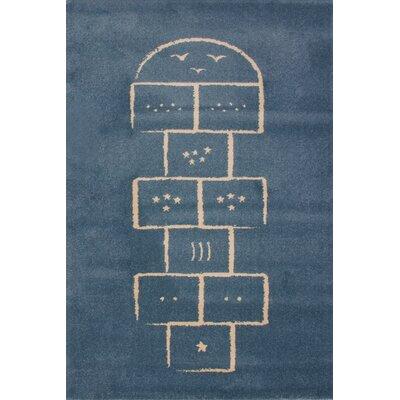 Art for kids Blue Area Rug