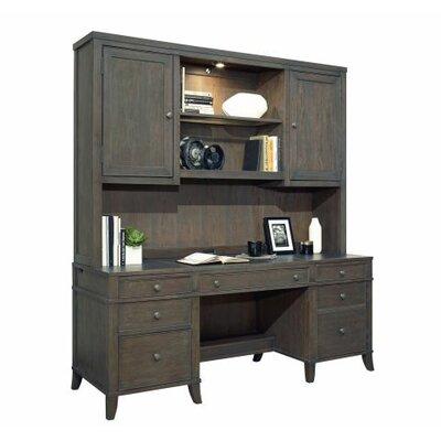 "Home Office Executive 51.5"" H x 72"" W Desk Hutch"