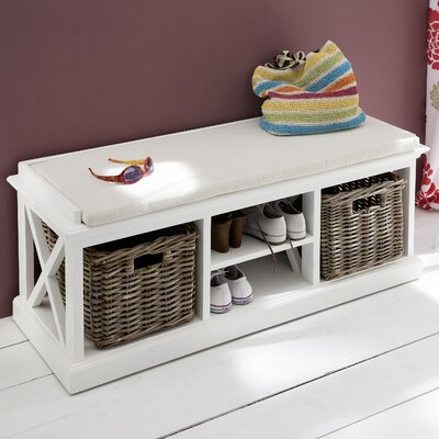 Fairmead Wood Storage Bench
