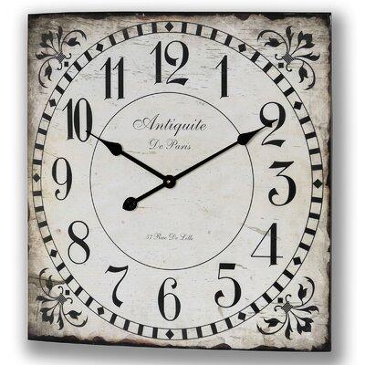 Hill Interiors Antiquite De Paris Wall Clock