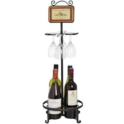 Hill Interiors 4 Bottle Wine Rack