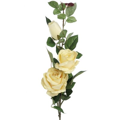 Hill Interiors Three Way Rose Stem