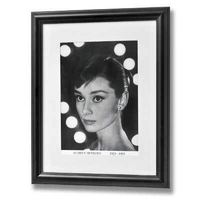 Hill Interiors Audrey Hepburn Framed Photographic Print