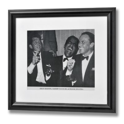 Hill Interiors Dean, Sammy and Frank Framed Photographic Print