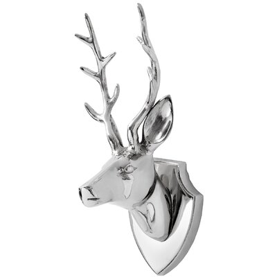 Hill Interiors Stags Head Wall Sculpture