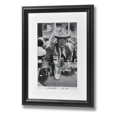 Hill Interiors Lee Marvin Framed Photographic Print