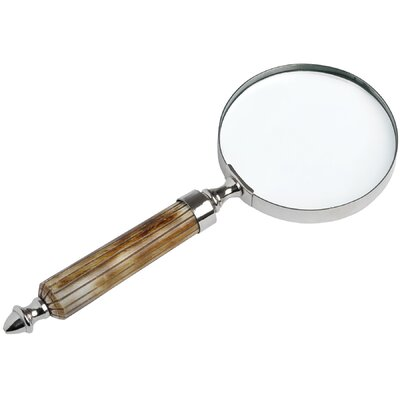 Hill Interiors Decorative Bone Handled Magnifying Glass