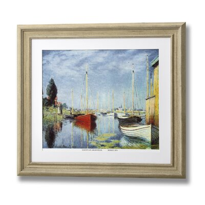 Hill Interiors Yachts Frame Art Print