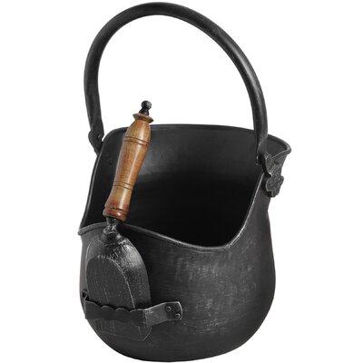 Hill Interiors 29cm Coal Bucket with Shovel