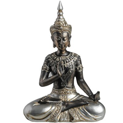 Hill Interiors Buddha In Protection Posture Figurine