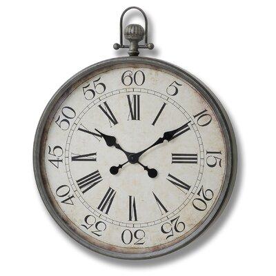 Hill Interiors Pocket Watch Wall Clock