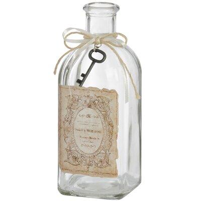 Hill Interiors Decorative Glass Bottle