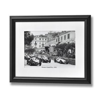 Hill Interiors Monaco Grand Prix Framed Photographic Print