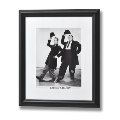 Hill Interiors Laurel and Hardy Dancing Framed Photographic Print