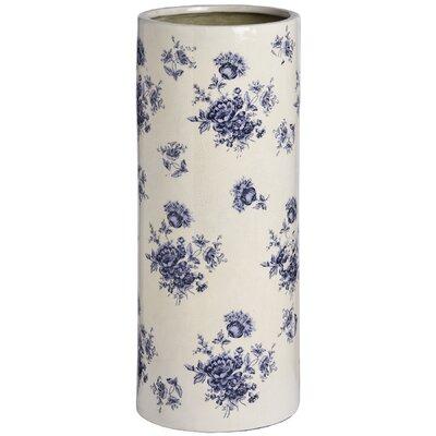 Hill Interiors Floral Ceramic Umbrella Stand