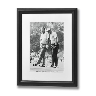 Hill Interiors Arnold Palmer and Jack Nicklaus Framed Photographic Print