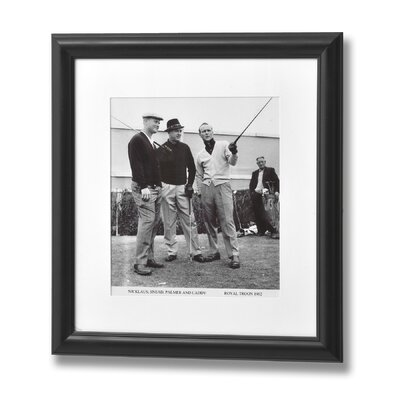 Hill Interiors Nicklaus, Snead, Palmar and Caddy Framed Photographic Print