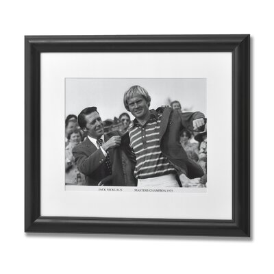 Hill Interiors Jack Nicklaus Masters Champion 1975 Framed Photographic Print