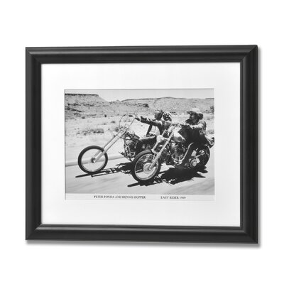 Hill Interiors Peter Fonda and Denis Hopper Framed Photographic Print