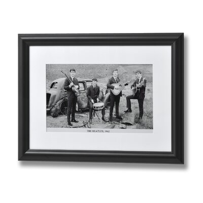 Hill Interiors The Beatles 1962 Framed Photographic Print
