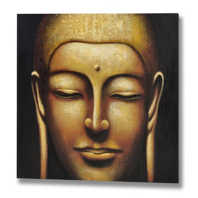 Hill Interiors Tara Buddha Original Painting Wrapped on Canvas