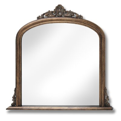 Hill Interiors Over Mantle Mirror
