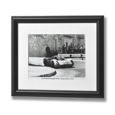 Hill Interiors Vic Elford Porsche 907K Targa Florio 1972 Framed Photographic Print
