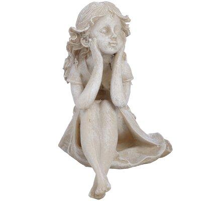 Hill Interiors Seated Fairy Figurine