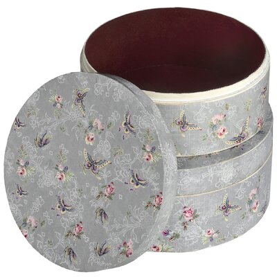 Hill Interiors 2-Piece Butterfly Cake Tin Set