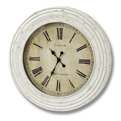 Hill Interiors Oversized 78cm Kensington Station Round Wall Clock