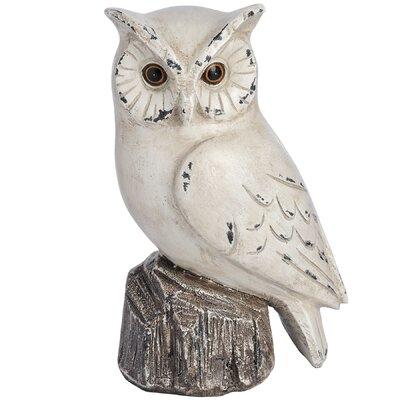 Hill Interiors Right Owl Figurine
