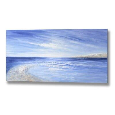 Hill Interiors Calm Skies and Seas Art Print on Canvas